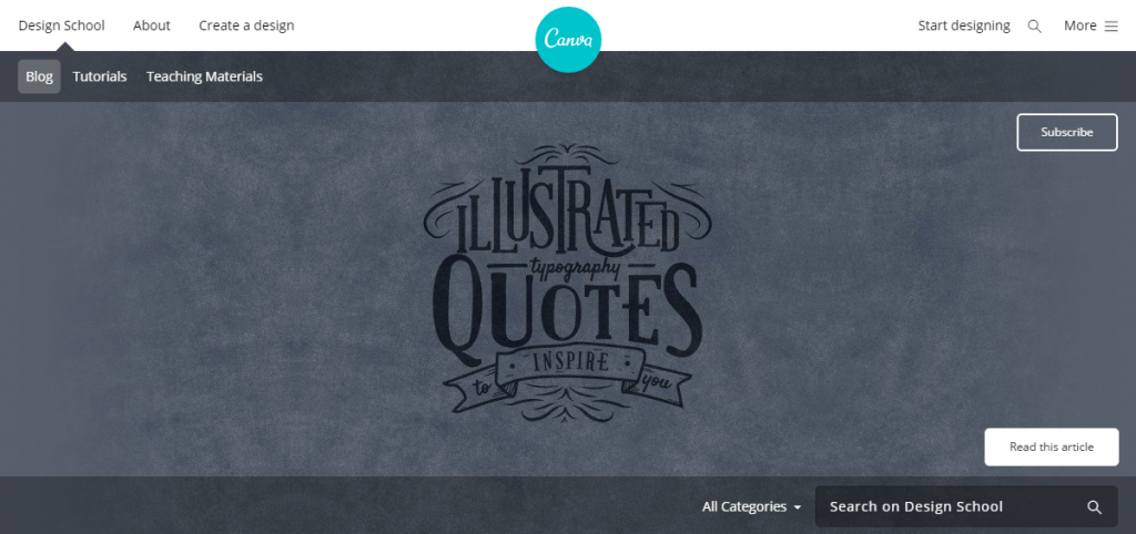Canva Design School Blog